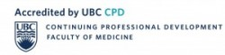 Accredited by UBC CPD